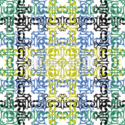 Textile Anmutung Musterdesign