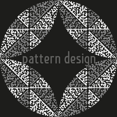 A Round Thing Vector Pattern