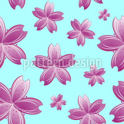 Flowers In The Water Design Pattern