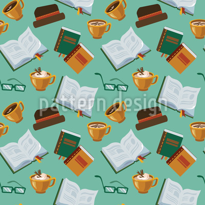Open Book Pattern Design
