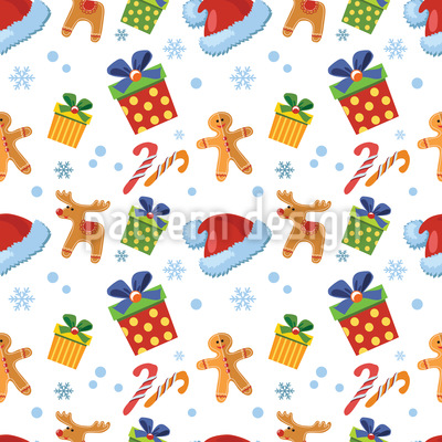 Christmas Candy Design Pattern