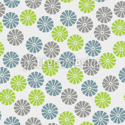 Citrus Flowers Design Pattern