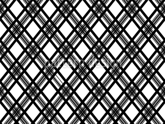 Glencheck Monochrom Rapportiertes Design