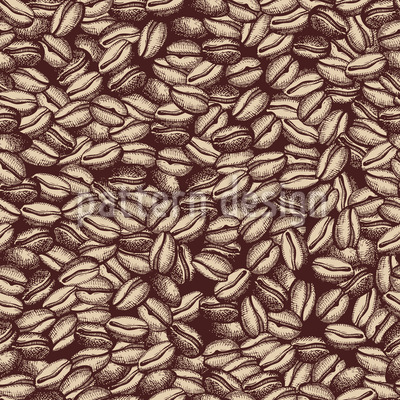 Classic Coffee Repeat Pattern