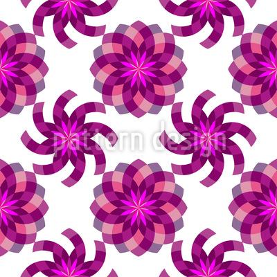 Geometric Flower Magic Vector Design