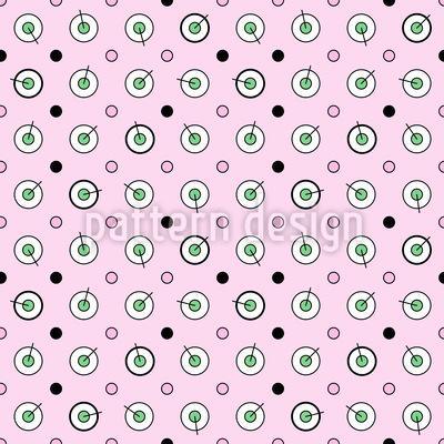 Kreise und Tupfen Vektor Design