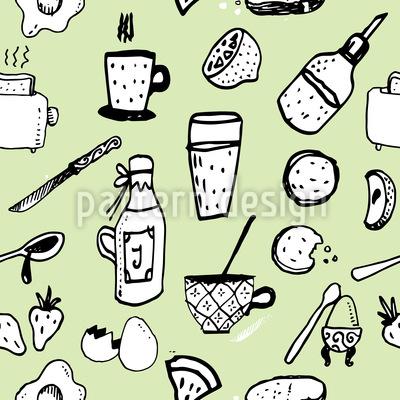 Englisches Frühstück Musterdesign