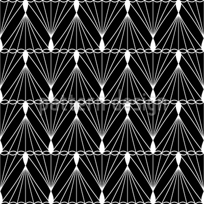 Faden Und Schnur Vektor Muster