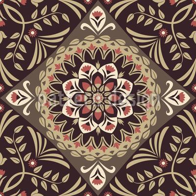 Eine Florale Geschichte Vektor Design