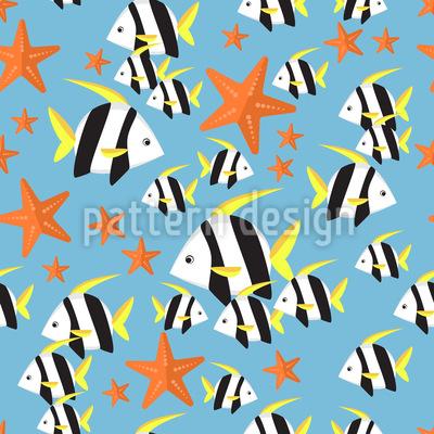 Unterwasserwelt Muster Design