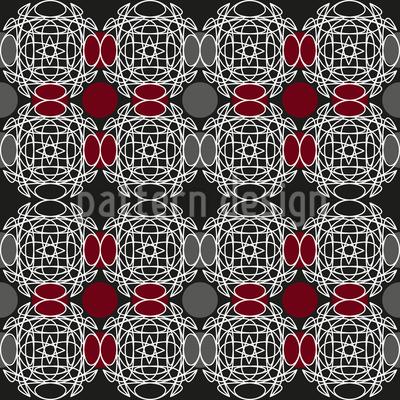 Hinter Den Ornamenten Nahtloses Muster