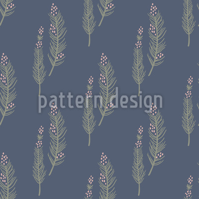 Fairy Branches Seamless Vector Pattern