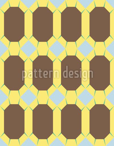 Geometric Diamond Seamless Pattern