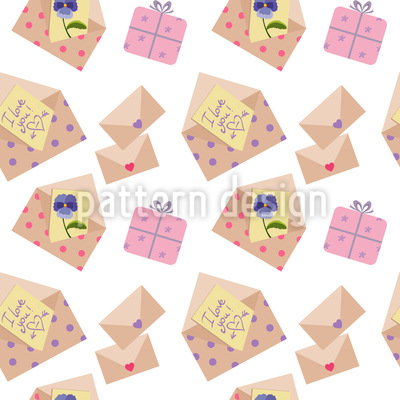 Envelope For You Repeat Pattern