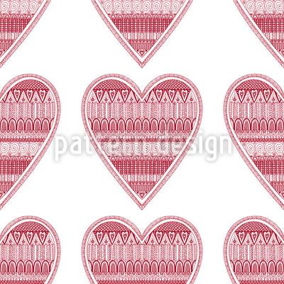 Heart For Knitting Pattern Design