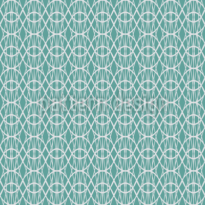 Transparent Curtain Repeating Pattern