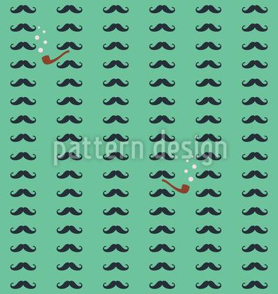 Herr Detektiv Muster Design