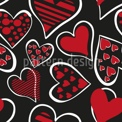 Forever And Ever Vector Pattern
