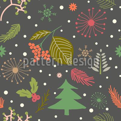 Winternacht Vektor Design