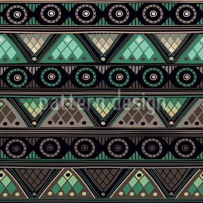 Wikinger Tribal Rapportiertes Design