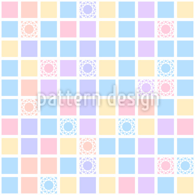 Square Play Vector Pattern