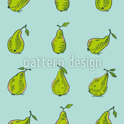 Birnen Pflücken Vektor Design