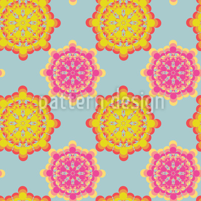 Flower Power Connection Pattern Design