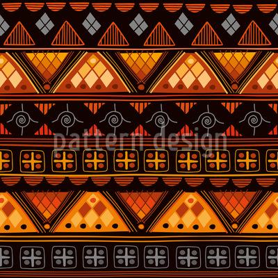 Stammes Zeichen Muster Design
