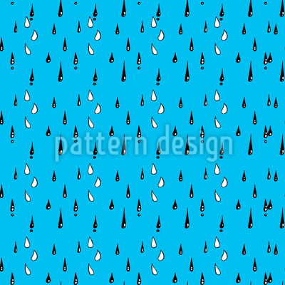 Drizzle Rain Vector Ornament