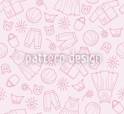 Welt der Kinder Rosa Muster Design