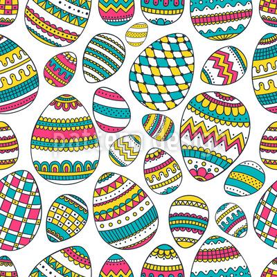Decorated Eggs Design Pattern