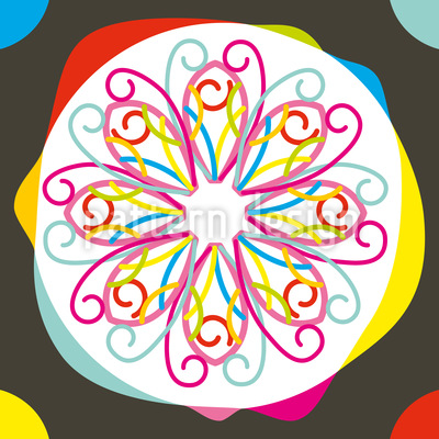 Spot Of Color Vector Pattern