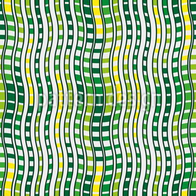 Harmonische Wellen Muster Design