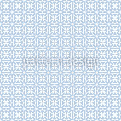 Eisblumen Raster Nahtloses Muster