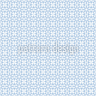 Frost Grid Seamless Pattern