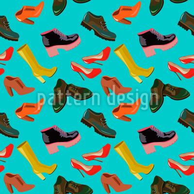 Arten von Schuhen Rapport