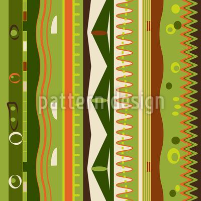 Streifen An Die Wand Vektor Ornament