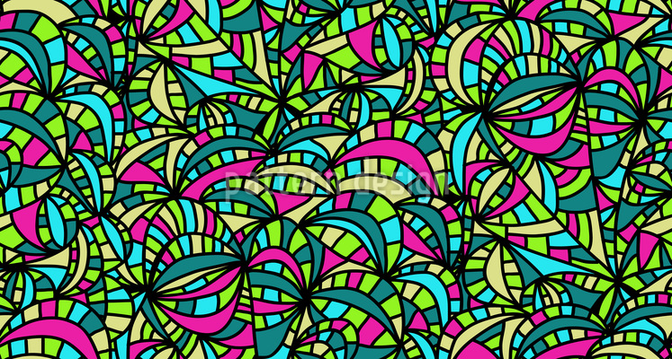 Meeres Party Musterdesign