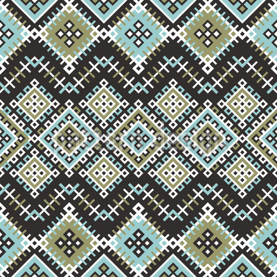 Ethnic Patches Design Pattern
