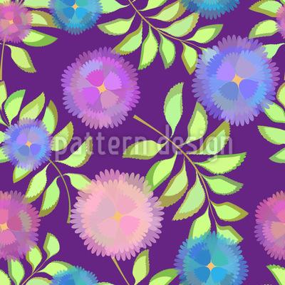 Floristic Decoration Repeat Pattern