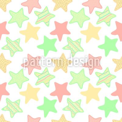 Gelee Sterne Designmuster