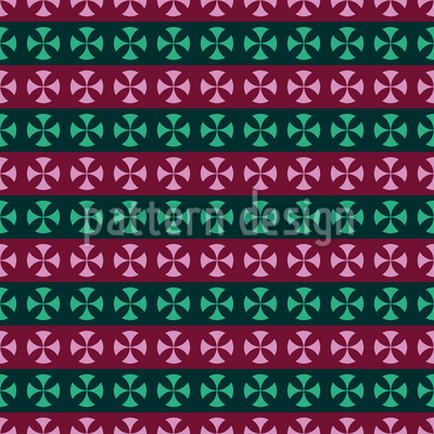 Cross Stripes Repeating Pattern