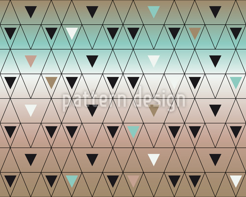 Different Sized Triangles Repeat Pattern