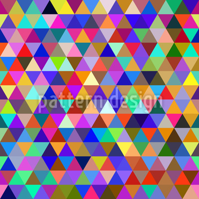 Abstract Geometric Triangles Pattern Design