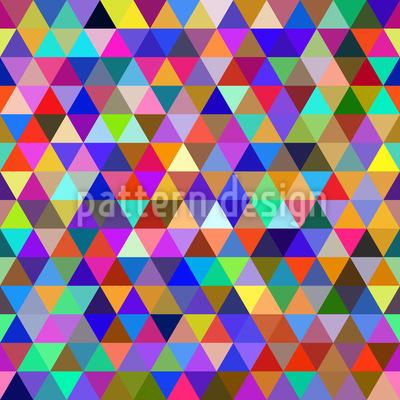 Abstrakte Geometrische Dreiecke Muster Design