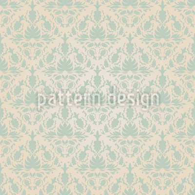 Stylish Damask Seamless Pattern