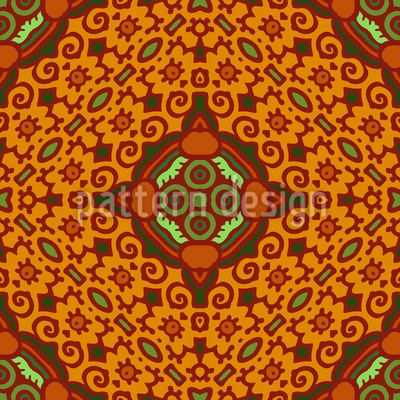 Beautiful Tile Vector Pattern