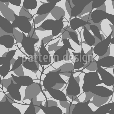Behind The Leaves Repeat Pattern
