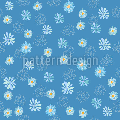 Variations of Daisies Vector Ornament