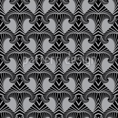 Maori Pfeil Nahtloses Vektor Muster